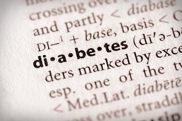 "Selective focus on the word ""diabetes"". Many more word photos in my portfolio..."