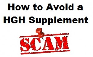 How to avoid HGH supplements scams
